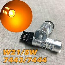 Front Signal Parking Light AMBER SMD CANBUS LED Bulb T20 7443 7444 W21W W1 G JAE