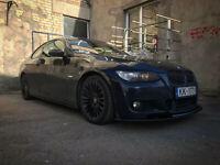 BMW E92 E93 PRE LCI Front M Bumper spoiler splitter lip Performance valance