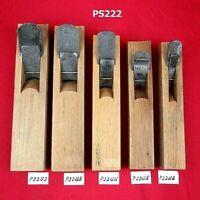 Uchimaru Kanna set Japanese inner circle plane set of 5 woodworking tool PS222