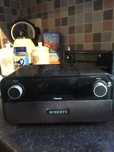 Roberts Blutune 50 DAB+/FM/Bluetooth Radio (Black)