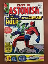 Tales to Astonish #59 (Marvel Comics) Hulk & Giant-Man appearance Silver Age