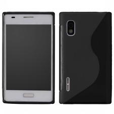 Custodia in TPU S-Line Nera per LG E610 Optimus L5