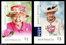 2018 Queen's Birthday - Set of 2 Self Adhesive Booklet Stamps - MUH