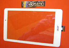 VETRO+TOUCH SCREEN per ACER ICONIA TAB 8 B1-810 840 BIANCO DISPLAY ONE NUOVO