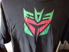 Ript  Mens 3XL shirt Transformers Deceptacon