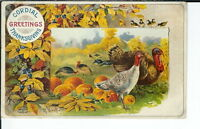 AX-269 - Cordial Thanksgiving, Artist Signed R. Veenhiet, 1907-1915 Postcard
