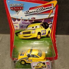 DISNEY PIXAR CARS - RACE CHIEF RPM WITH HEAD SET - RARE RACE O RAMA PACK / NEW