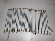 Puch Maxi N und S X30 Speichen Satz 17 Zoll Felge Rad NEU 36 Stück mit Nippeln