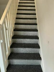 """Self Adhesive 6""""  Silver Glitter Stair"""