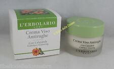 ERBOLARIO CREMA VISO ANTIRUGHE 30ml notte calendula ginseng Wrinkle face cream