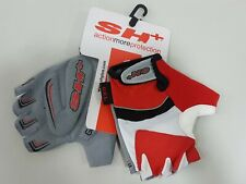 SH+ Dragonfly Half Finger Cycling Glove Red White Size M