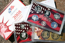 2008 United States Mint ANNUAL 14 Coin SILVER Proof Set Free Shipping in the USA