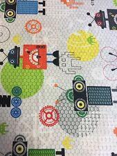 iBot Robot Cog Gear Me Fabric Boy Children Kids Fabric Gaming Science