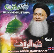 RUKH E MUSTAFA - PROFESSEUR ABDUL RAUF ROOFI - NEUF NAAT CD