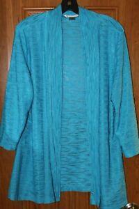 Allison Daley Womens Size XL 3/4 Sleeve Polyester Shrug