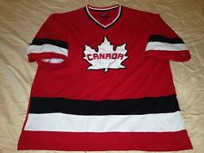 Team Canada Teepee Embroidered Sewn Stitched Jersey Adult Medium