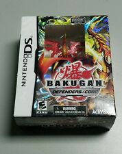 BAKUGAN DEFENDERS OF THE CORE NINTENDO DS w LIMITED FIGURE RED DRAGON NEW
