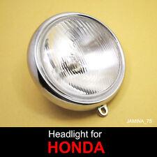 Honda Trail 110 CT110 Trail 125 CT125  Headlight Head Lamp 6 V. Bulb + Rim
