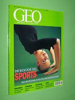 Geo Magazin - Die Biologie des Sports Südamerika Wildhunde Rasen Nr.8 / 2001