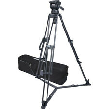 Miller CX18 Sprinter II 1-Stage Alloy Tripod System with Ground Spreader 3778