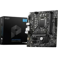 MSI B560M-A PRO Desktop Motherboard - Intel Chipset - Socket LGA-1200 - Intel Op