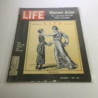 Life Magazine: Sept 4, 1970 - Women Arise & Fifty Years Ago Women Got The Vote