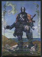 2018 Marvel Masterpieces Gold Foil Trading Card #40 Crossbones (Tier 2)