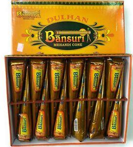 Herbal Bansuri Heena Chemical Free Cone ( 12 Cones, Green) C11507