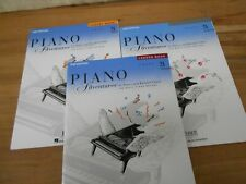 Lot 3 Faber Piano Adventures Level 2A Learning Library Lesson Performance Theory