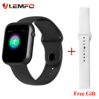 Lemfo SX16 Reloj inteligente Podómetro smart watch Android IOS Hombres y mujeres