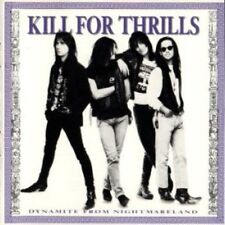 Dynamite from Nightmareland by Kill for Thrills (CD, 1990, MCA, DADC Pressing)