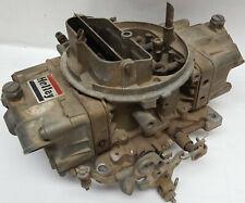 Holley 700 CFM double pumper carburetor list # 4777-1 Complete with mech choke