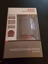 Brandbeu: Bluetooth Musikanlage Freisprecheinrichtung USB AEG BSS 4809 rot