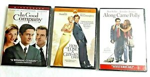 DVDs In Good Company; Along Came Polly & How to Lose a Guy in 10 Days-WIDESCREEN