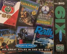 PC «SENSIBLE SOCCER+FISHERMAN'S PARADISE+WORLD SOCCER+SPORTING CLAYS+RALLY+GOLF»