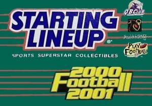 2000-2001 Starting Lineup NFL Football Figures