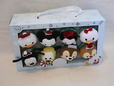 2015 Tsum Tsum Disney Holiday Series Set of 8 New in Box
