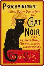 Chat Noir Katzen Blechschild  - Blechschild 20x30 cm PC 300/291 Katze Cat