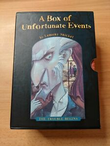 A Box of Unfortunate Events - The Trouble Begins -  Books 1 - 4 FREE UK P&P