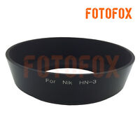 HN-3 LENS HOOD For NIKON AF 35mm f2.0 52mm Screw Hood Blocking The Light Metal