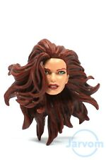"Marvel Legends 6"" Inch TRU 2-Pack Dark Phoenix Jean Grey Head Loose Complete"