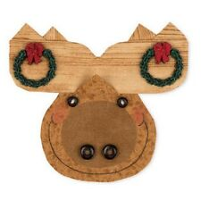 Happy Hollow Designs Peppermint Cheesecake MOOSE #765 Ornament Kit Quilting