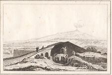 1835 Catania ponte su Cantara bulino