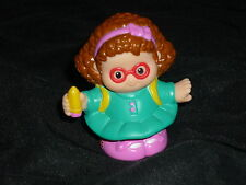 Fisher Price Little People School Girl MAGGIE Pencil