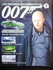 FASCICULE 7 JAMES BOND 007 POSTER JAGUAR XKR  MEURS UN AUTRE JOUR