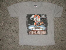 Youngstown Steelhounds Kids Minor League Hockey Chl T Shirt 6-8 Youth Small Nice