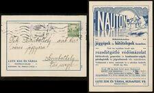 ARCTIC POLAR BEAR ADVERTISING 1912 POSTAL CARD...NAUTON