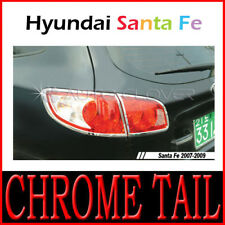 Chrome Rear Light Lamp Cover For 2007 2008 2009 Hyundai Santa Fe