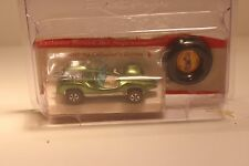 Hot Wheels Vintage Redline Mantis with collector button Rare H2F 1969 Green 1/64