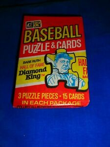 1982 Donruss Baseball Wax Pack as pictured Fresh from Box